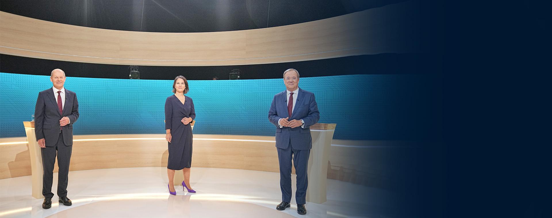 Μάχη για την ψήφο των αναποφάσιστων στην τελική ευθεία για τις κάλπες στη Γερμανία