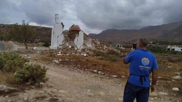 Σεισμός στην Κρήτη: «Μας έσωσε η θάλασσα, λειτούργησε ως φίλτρο», λέει ο πρόεδρος του Παλαιοκάστρου Σητείας