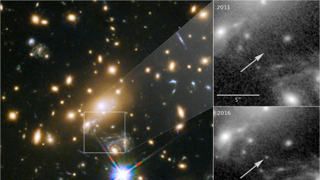 Το Hubble φωτογράφισε τον «Ίκαρο», το πιο μακρινό άστρο σε απόσταση 9 δισ. ετών φωτός