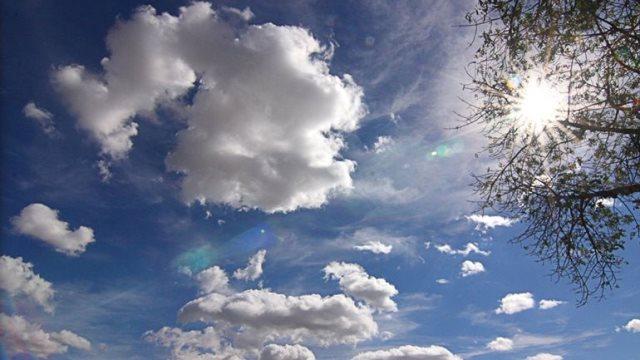 Αίθριος σήμερα ο καιρός με λίγες τοπικές νεφώσεις και σποραδικές βροχές