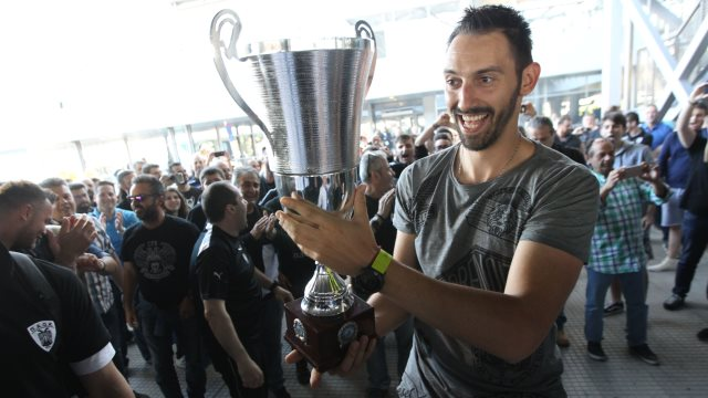 Βόλεϊ ΠΑΟΚ: Αποθέωση των Κυπελλούχων στο «Μακεδονία» (βίντεο)