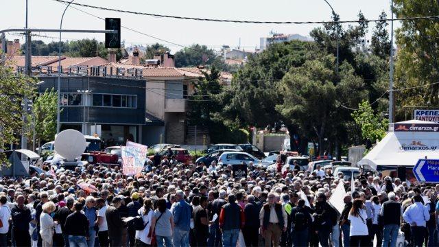 Συγκέντρωση διαμαρτυρίας για τα διόδια στην Γέφυρα Βαρυμπόμπης