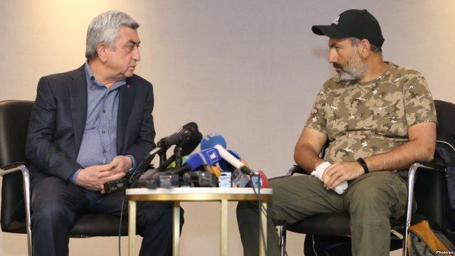 Αρμενία: Παραιτήθηκε ο πρωθυπουργός Σαρκισιάν - Ελεύθερος ο ηγέτης της αντιπολίτευσης