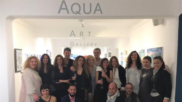 H Aqua Gallery, ο ξεχωριστός χώρος Τέχνης της Aqua Vista Hotels, εγκαινιάζει τη νέα σεζόν