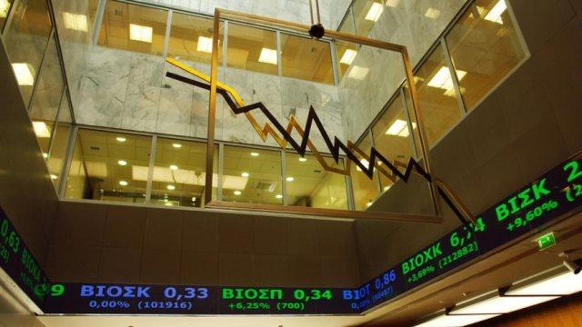 Χρηματιστήριο: Ρευστοποιήσεις και «βουτιά» 1,39%
