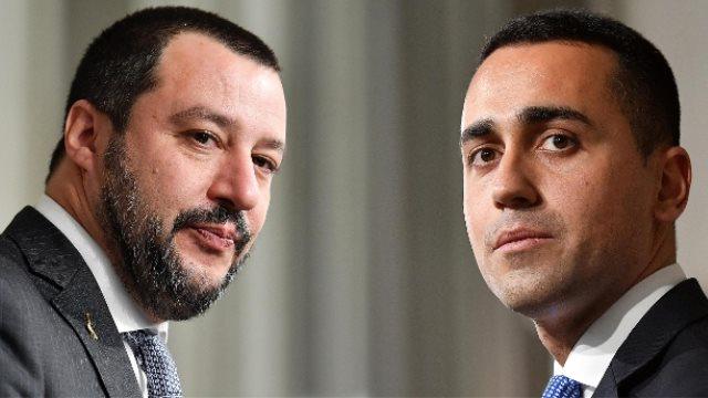 Ιταλία: «Κλείδωσε» η κυβερνητική συμμαχία Πέντε Αστέρων - Λέγκας του Βορρά