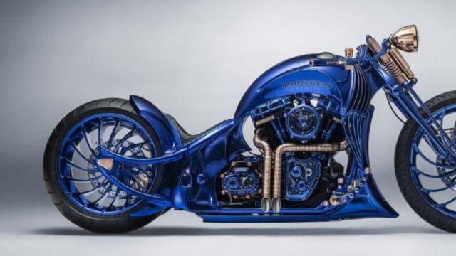 Η Harley Davidson κατασκεύασε την ακριβότερη μοτοσυκλέτα στον κόσμο