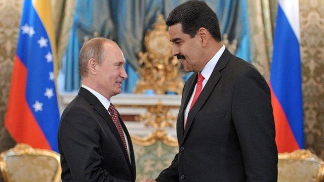 Ο Πούτιν συνεχάρη τον Νικολάς Μαδούρο για την επανεκλογή του