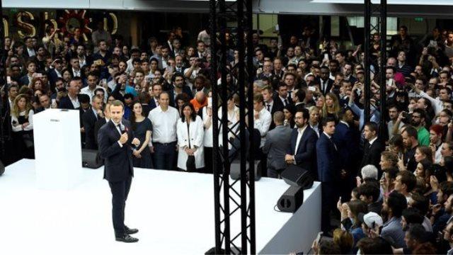 Μακρόν: Η καινοτομία να αποτελέσει την κινητήριο δύναμη της οικονομίας