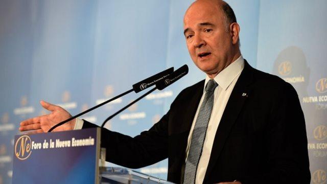 Μοσκοβισί: Να γίνει σαφές ότι το ελληνικό χρέος θα συνεχίσει να μειώνεται
