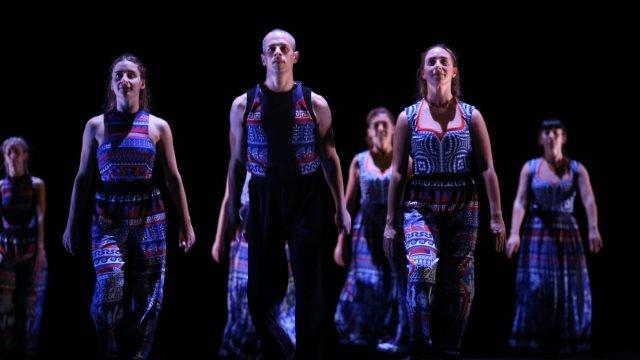 «The Thread»: Η εντυπωσιακή παράσταση στο Αρχαίο Θέατρο Επιδαύρου