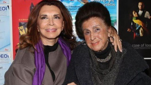 Μιμή Ντενίση: ''Έφυγε'' ξαφνικά από τη ζωή η πολυαγαπημένη της μητέρα