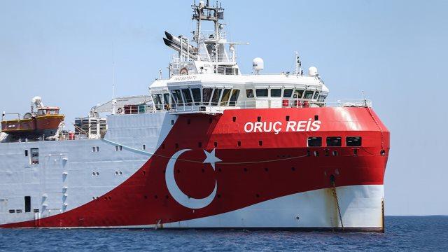 Νέα τουρκική Navtex για το Oruc Reis που πλέει προς το Καστελόριζο