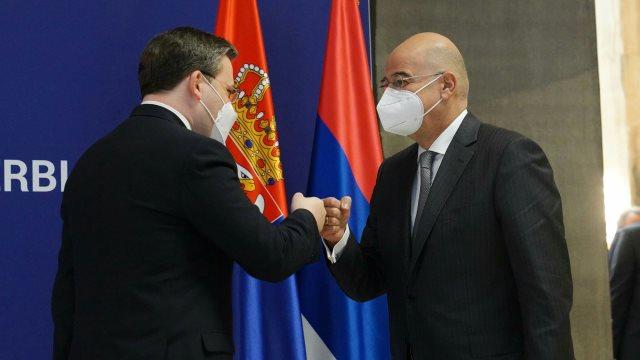 Δένδιας από τη Σερβία: Η Τουρκία προσπαθεί να επηρεάσει τα Βαλκάνια μέσω  οικονομίας και θρησκείας