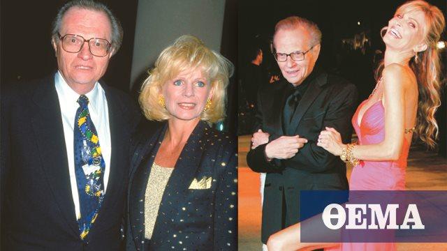 Larry King: Οκτώ γάμοι, ένας αρραβώνας και ξανά εργένης!