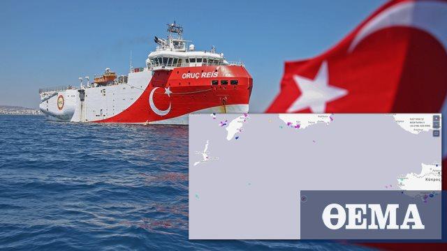 Άρχισαν τα παιχνίδια της Τουρκίας στην ελληνική υφαλοκρηπίδα