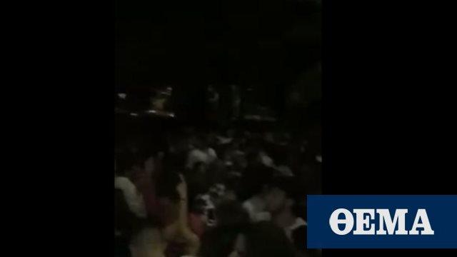 Κορωνοϊός: Έκαναν πάρτι χθες το βράδυ στο ΑΠΘ