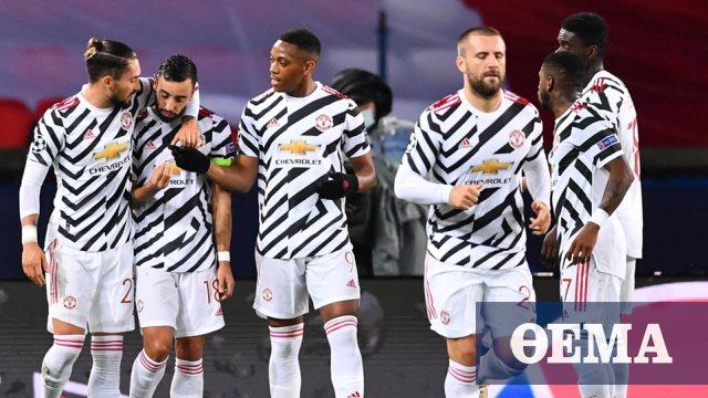Champions League, Παρί Σεν Ζερμέν-Μάντσεστερ Γιουνάιτεντ 1-2: Την έκανε πελάτισσα