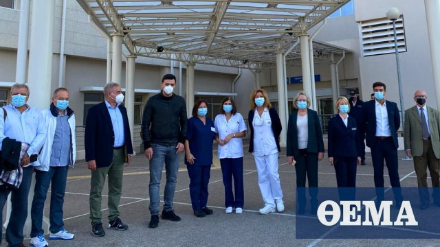 Δύο περιστατικά από την Καρδίτσα στη ΜΕΘ του νοσοκομείου Χαλκίδας