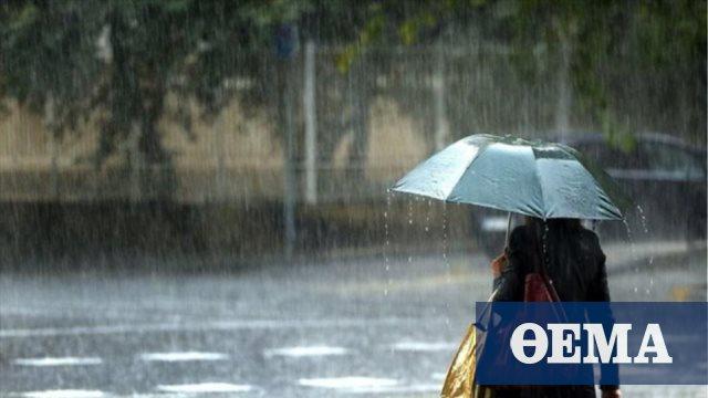 Ισχυρές βροχές από τα νότια-Έρχονται χιόνια