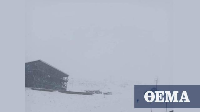 Καιρός: Χιόνια στα βορειοδυτικά το Σαββατοκύριακο – Καταιγίδες σήμερα στην Κρήτη