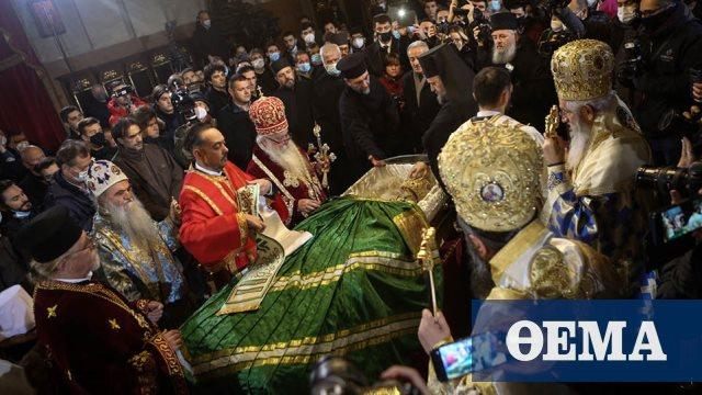Χαμός στο λαϊκό προσκύνημα του Πατριάρχη Ειρηναίου