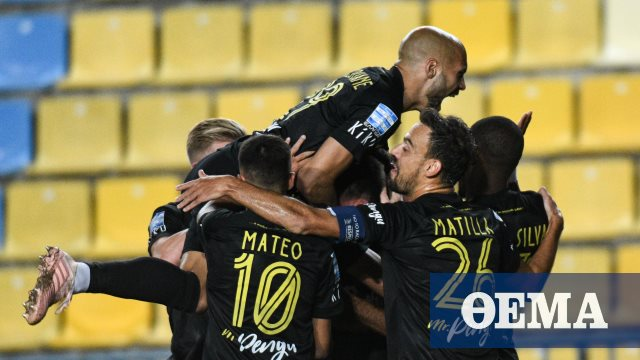 Super League 1, Παναιτωλικός-Άρης 0-1: Βαρδ-ΑΡΗΣ και στο Αγρίνιο
