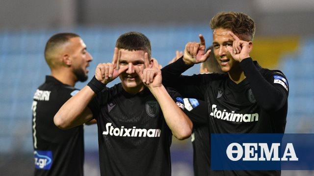 Super League 1, Λαμία-ΠΑΟΚ 0-2 (Β' ημίχρονο)