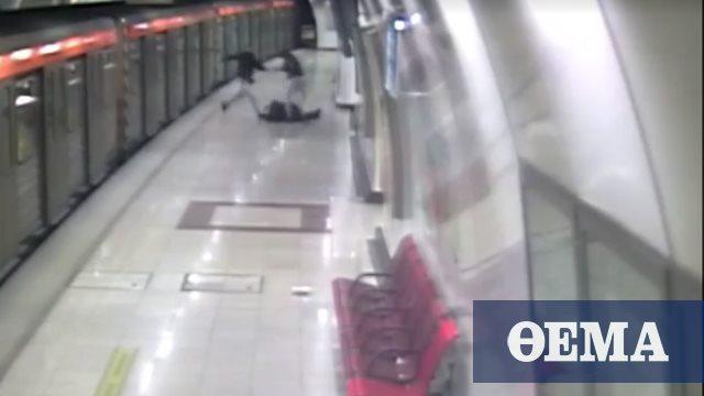Νέο βίντεο – ντοκουμέντο με τον ξυλοδαρμό του σταθμάρχη στο μετρό Ομονοίας