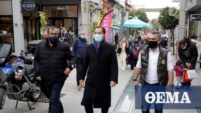 Γεωργιάδης: Πολύς κόσμος στην αγορά