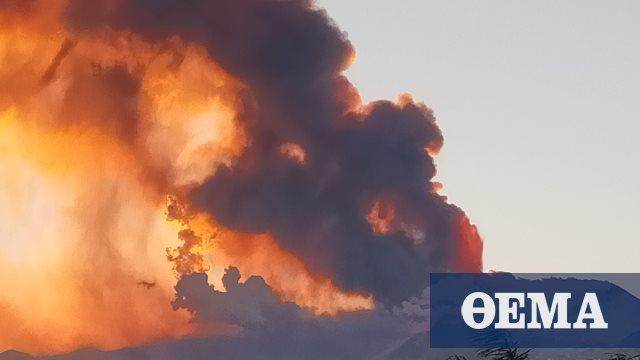 Ιταλία: Εξερράγη το ηφαίστειο της Αίτνας