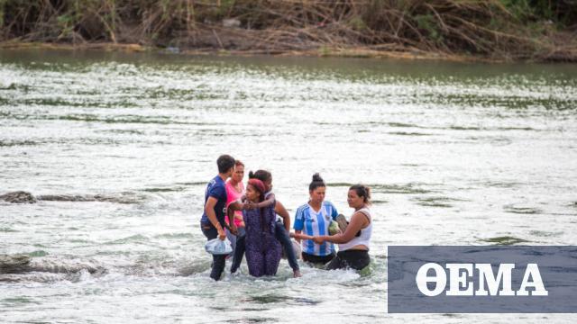 Νεκρή μετανάστρια στα παγωμένα νερά του Ρίο Γκράντε