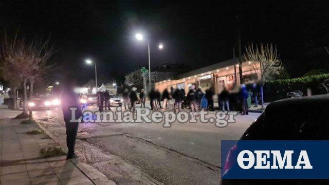 Προσαγωγές αντιεξουσιαστών έξω από το νοσοκομείο Λαμίας