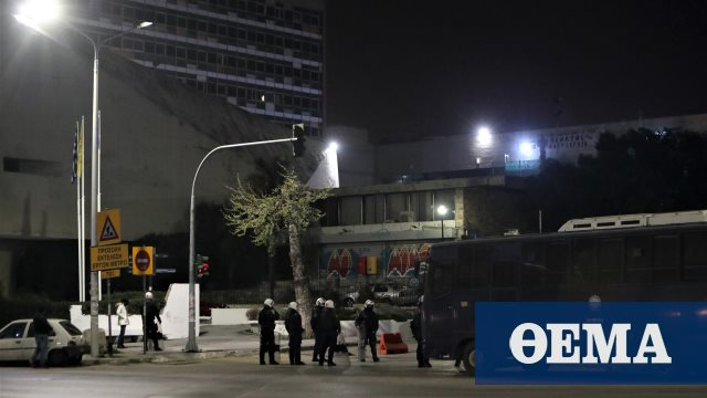 Επεισόδια περιμετρικά του ΑΠΘ κατά την αποχώρηση των αστυνομικών δυνάμεων (βίντεο)