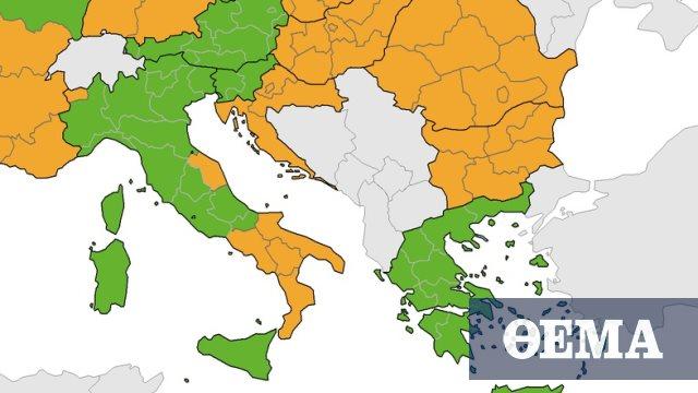 Κορωνοϊός - ECDC: Παραμένει «πράσινη» η Ελλάδα στον δείκτη θετικότητας - Κάτω από 4% - Πρώτο Θέμα