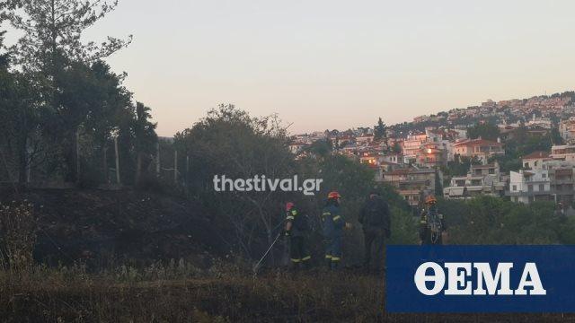 Θεσσαλονίκη: Έσβησε η φωτιά στο Πανόραμα