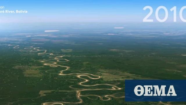Google Earth Timelapse: Ποιες είναι οι αλλαγές που έγιναν στον πλανήτη τα τελευταία 37 χρόνια - Δείτε βίντεο