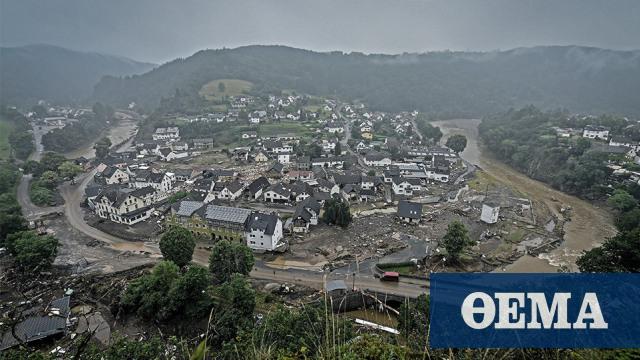 Πλημμύρες στη δυτική Ευρώπη: Στον τόπο της καταστροφής πάει η Μέρκελ