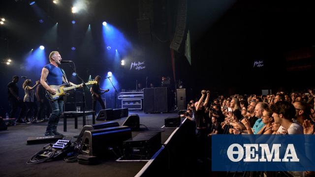 O Sting έρχεται στην Ελλάδα τον Σεπτέμβριο για δύο συναυλίες στο Ηρώδειο