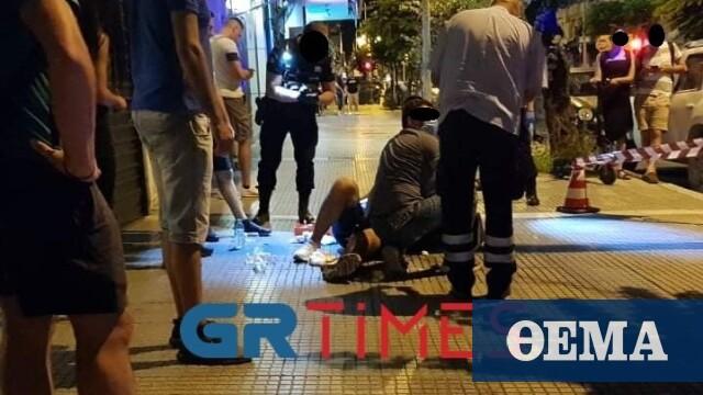 Θεσσαλονίκη: Πυροβολισμοί στην Ερμού – Ένας τραυματίας (βίντεο και φωτογραφίες)