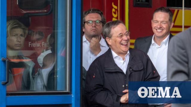 Γερμανία: Τα γέλια του Λάσετ βγήκαν... ξινά - Αρνητική δημοσκοπική εικόνα για τον υποψήφιο της Χριστιανικής Ένωσης