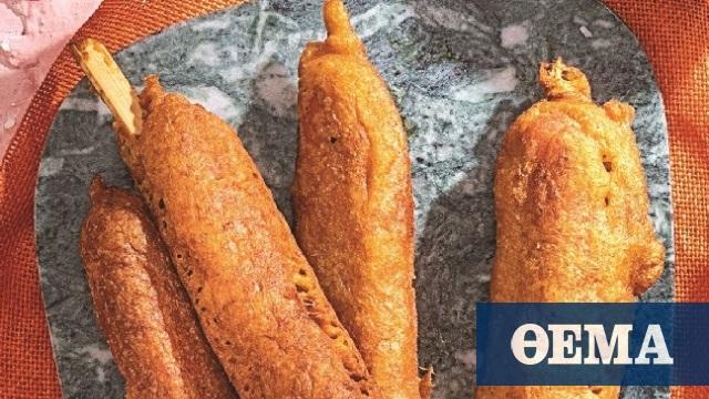 Corn Dogs, αλλιώς λουκάνικα σε ξυλάκια: Ο καλύτερος μπιρομεζές!