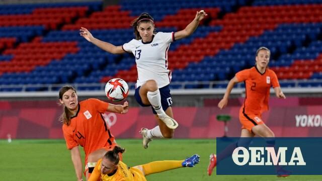 Ολυμπιακοί Αγώνες, ποδόσφαιρο γυναικών: Συγκλονιστική πρόκριση των ΗΠΑ επί της Ολλανδίας στα πέναλτι - Δείτε τα γκολ