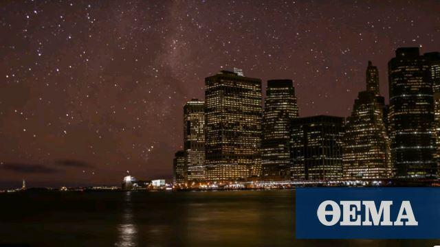 Περιβάλλον: Αυξημένη κατά 49% η φωτορύπανση - Πώς επηρεάζεται από την τεχνολογία φωτισμού LED - Πρώτο Θέμα