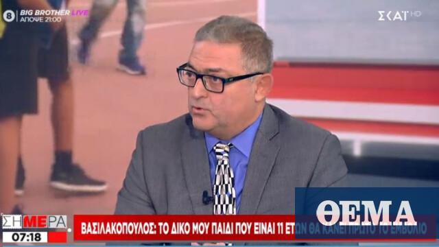 Βασιλακόπουλος: Δεν γίνεται να ρισκάρεις το ανοσοποιητικό ενός παιδιού με φυσική λοίμωξη - Πρώτο Θέμα