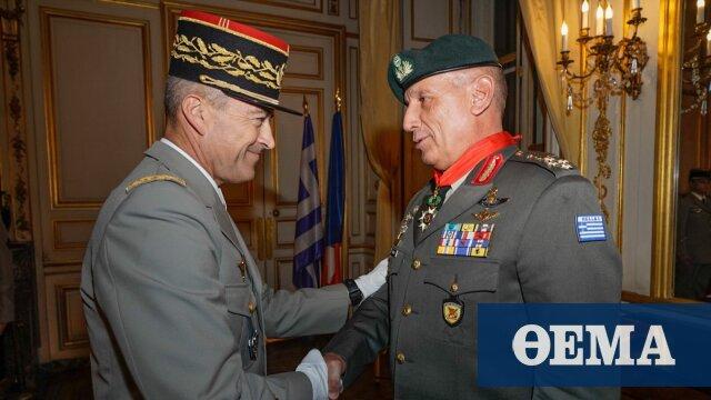Γάλλος Αρχηγός ΓΕΕΘΑ: Δυναμική και στιβαρή στρατιωτική συνεργασία με την Ελλάδα στη Μεσόγειο