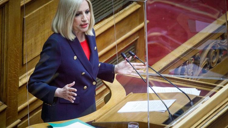 Φώφη Γεννηματά στη Βουλή: Νομιμοποιείτε τους ασύδοτους εργοδότες - Ποινικοποιείτε το δικαίωμα της απεργίας