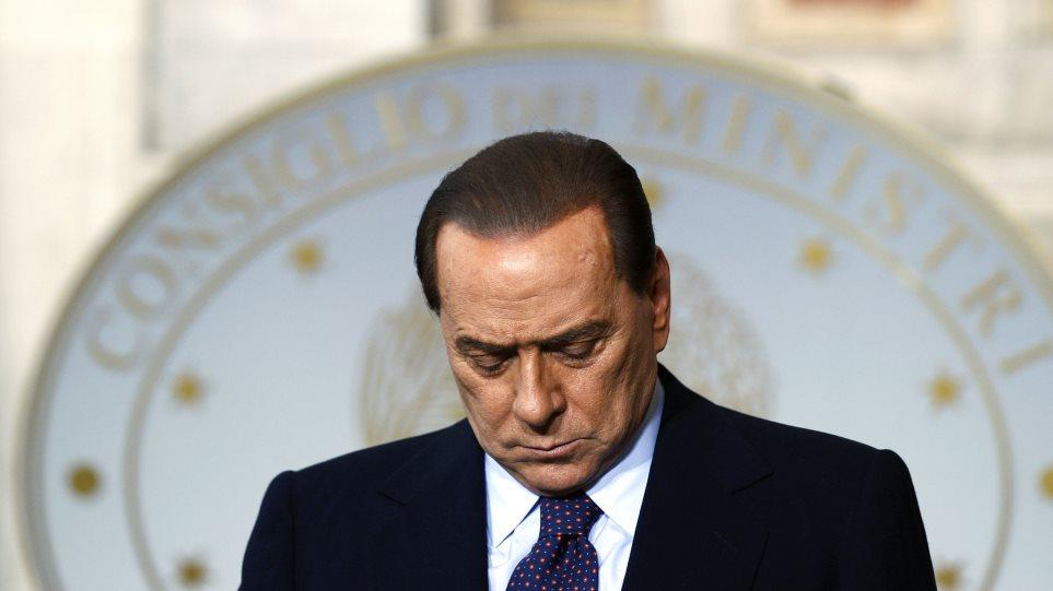 Ένας στους δύο ιταλούς θέλει να παραιτηθεί ο Μπερλουσκόνι