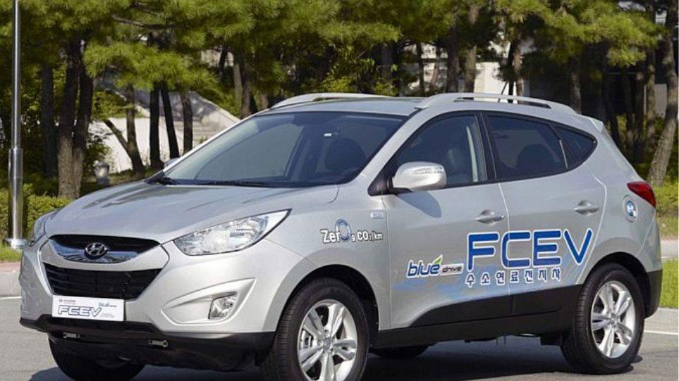 Το Hyundai ix35 και με υδρογόνο!