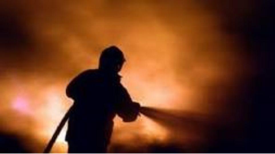 Κάηκε ζωντανος μέσα στο σπίτι του